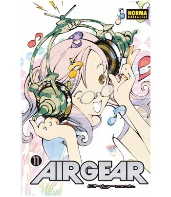 Air Gear Nº 11 (de 37)