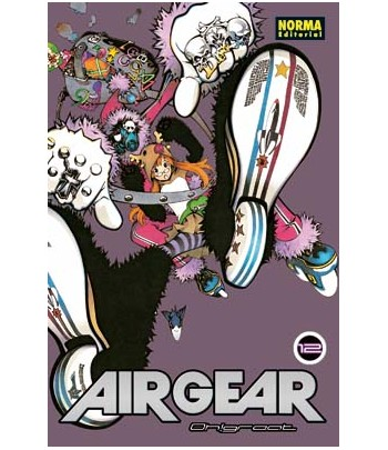 Air Gear Nº 12 (de 37)