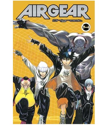 Air Gear Nº 14 (de 37)