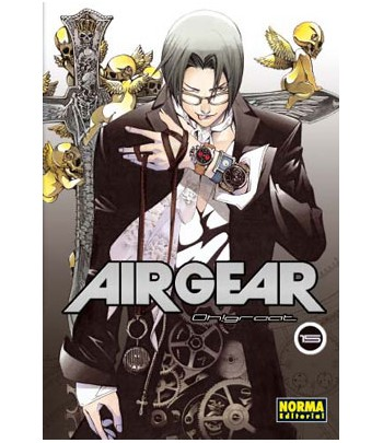 Air Gear Nº 15 (de 37)