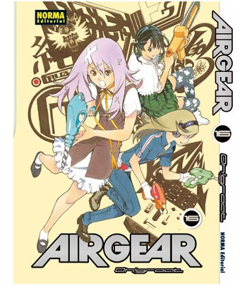 Air Gear Nº 16 (de 37)