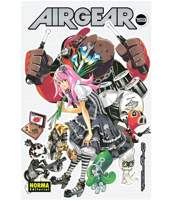 Air Gear Nº 19 (de 37)