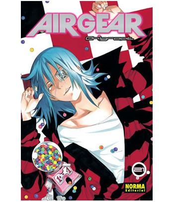 Air Gear Nº 21 (de 37)