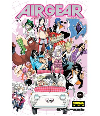 Air Gear Nº 24 (de 37)