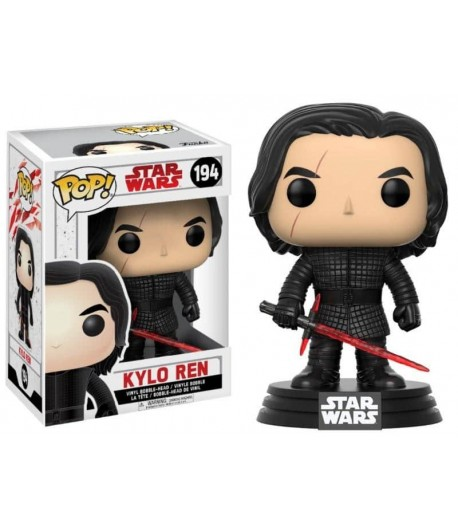 Vinyl POP Star Wars The Last Jedi Nº 194: Kylo Ren