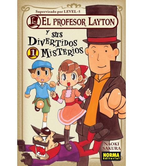 El profesor Layton y sus divertidos misterios Nº 1 (de 4)