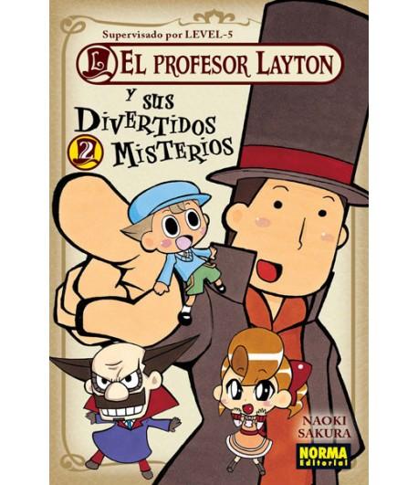 El profesor Layton y sus divertidos misterios Nº 2 (de 4)