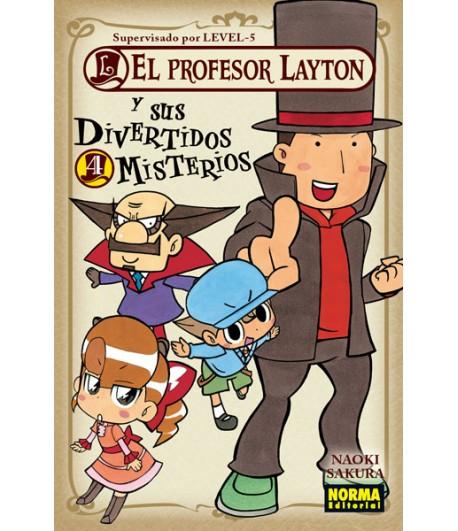 El profesor Layton y sus divertidos misterios Nº 4 (de 4)