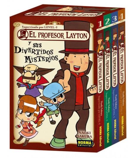Pack El profesor Layton y sus divertidos misterios