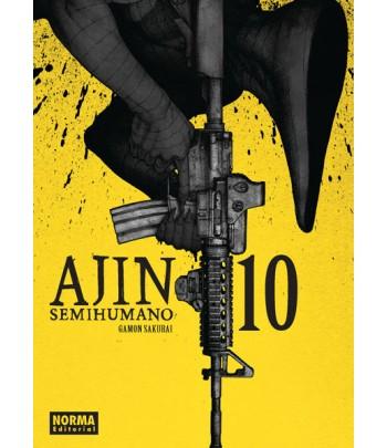 Ajin (Semihumano) Nº 10