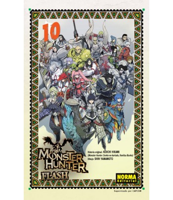 Monster Hunter Flash Nº 10...