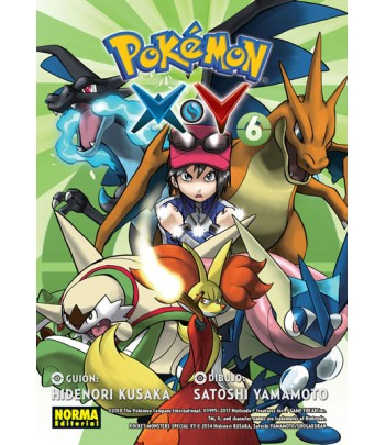 Pokémon X-Y Nº 6 (de 6)
