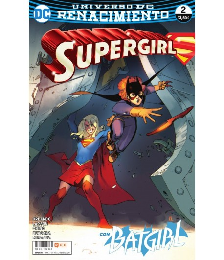 Supergirl (Renacimiento) Nº 02