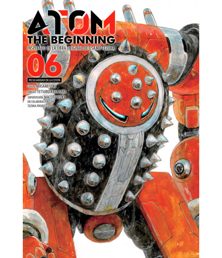 Atom: The Beginning Nº 06