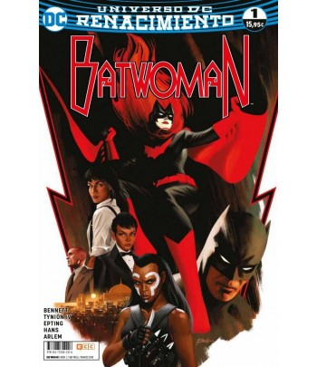 Batwoman (Renacimiento) Nº 01