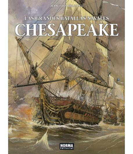 Las grandes batallas navales Nº 03: Chesapeake