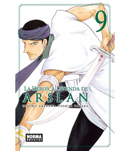 La heroica leyenda de Arslan Nº 09