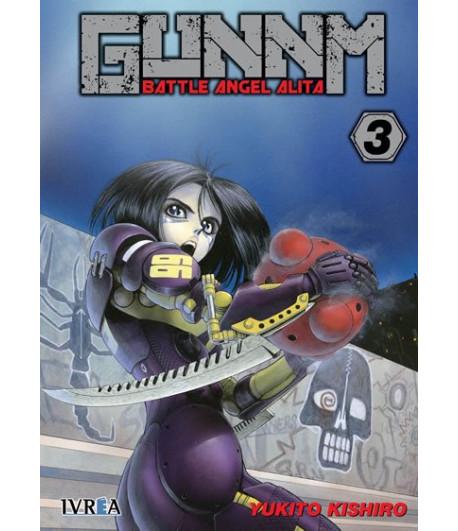 Gunnm (Battle Angel Alita) Nº 03