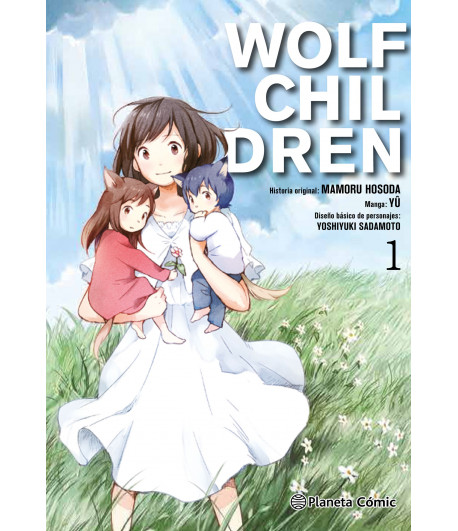 Wolf Children Nº 1 (de 3)